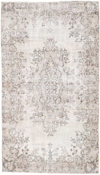 Colored Vintage Rug 122X214 Authentic  Modern Handknotted White/Creme/Light Grey (Wool, Turkey)