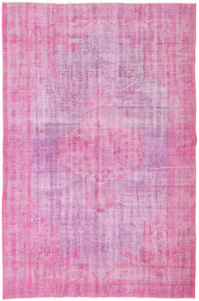 Colored Vintage Rug 179X270 Authentic  Modern Handknotted Light Pink/Pink (Wool, Turkey)