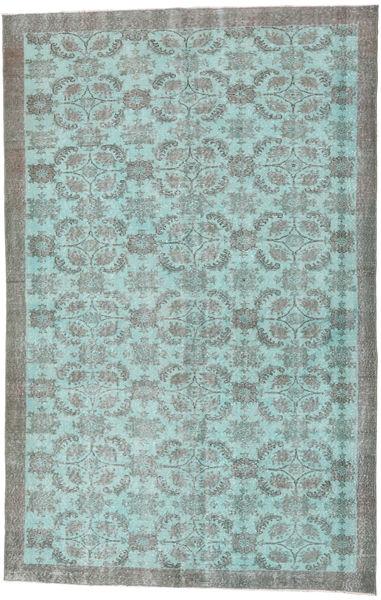 Colored Vintage Rug 184X285 Authentic  Modern Handknotted Dark Grey/Light Blue (Wool, Turkey)