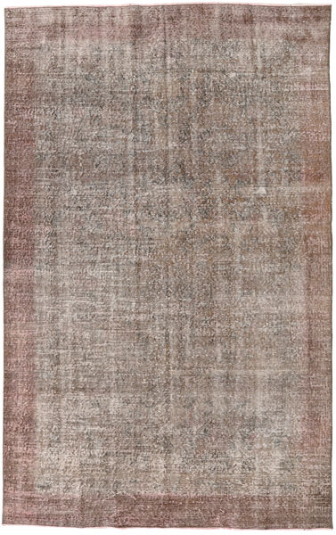 Colored Vintage Rug 152X240 Authentic  Modern Handknotted Light Grey/Brown (Wool, Turkey)