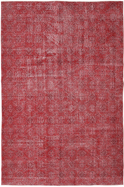 Colored Vintage Rug 186X287 Authentic  Modern Handknotted Dark Red/Crimson Red/Rust Red (Wool, Turkey)