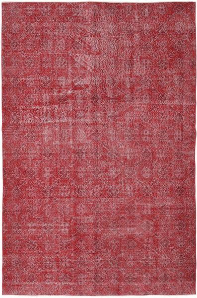 Colored Vintage Szőnyeg 186X287 Modern Csomózású Sötétpiros/Piros/Rozsdaszín (Gyapjú, Törökország)