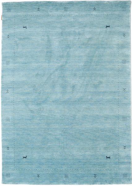 Loribaf Loom Zeta - Lichtblauw Vloerkleed 160X230 Modern Lichtblauw (Wol, India)