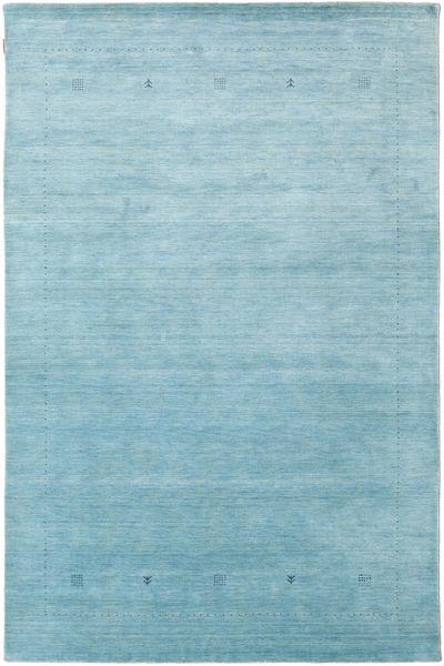 Loribaf Loom Giota - Hellblau Teppich  190X290 Moderner Hellblau/Türkisblau (Wolle, Indien)