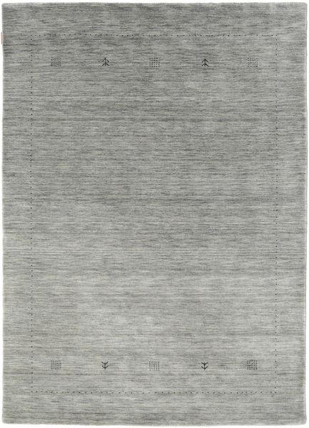 Loribaf Loom Giota - Gris Alfombra 160X230 Moderna Gris Claro/Gris Oscuro (Lana, India)