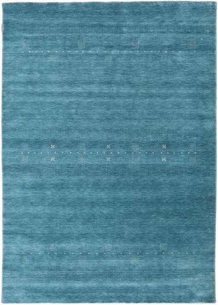 Loribaf Loom Eta - Vaaleansininen Matto 160X230 Moderni Tumma Turkoosi/Sininen (Villa, Intia)