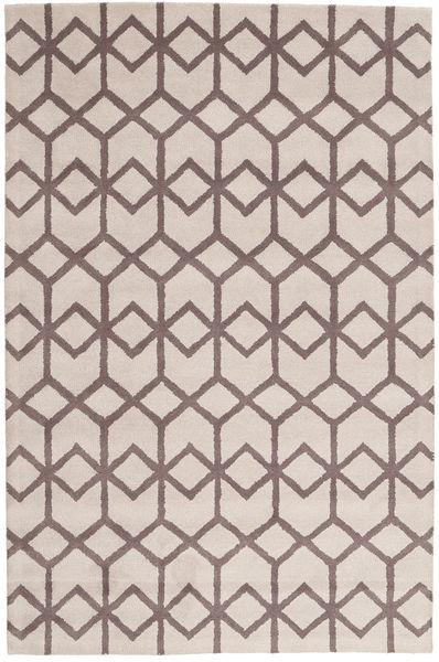Handtufted Tapis 154X233 Moderne Blanc/Crème/Gris Clair (Laine, Inde)