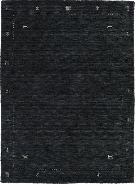 Loribaf Loom Zeta - Musta/Harmaa Matto 140X200 Moderni Musta (Villa, Intia)