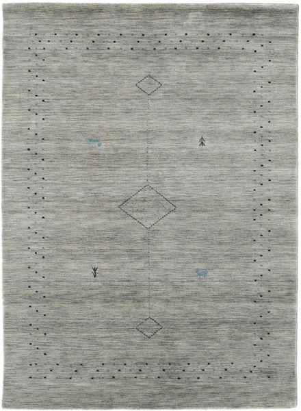 Loribaf Loom Alfa - Harmaa Matto 140X200 Moderni Tummanharmaa/Vaaleanharmaa (Villa, Intia)