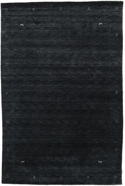 Loribaf Loom Zeta - Musta/Harmaa Matto 190X290 Moderni Tummansininen (Villa, Intia)