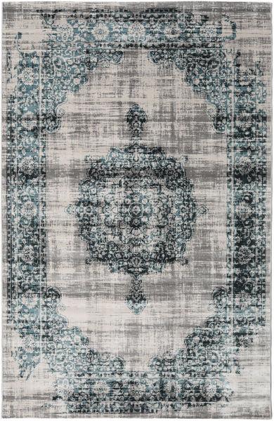 Jinder - Petrol / Greige rug RVD19068