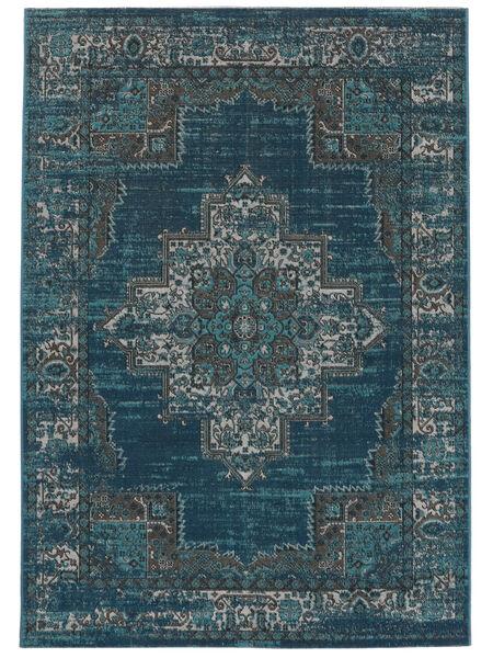 Vintage Vega - Petrol/Türkis Teppich  200X300 Moderner Dunkelblau/Blau ( Türkei)