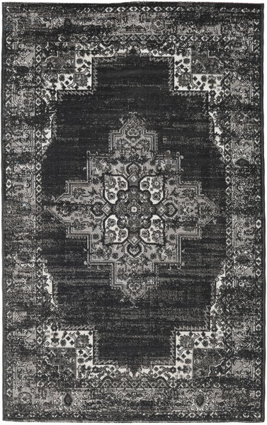 Vintage Vega - Anthracite/Grey Rug 100X160 Modern Dark Grey/Light Grey ( Turkey)