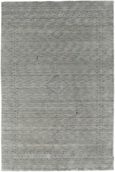 Loribaf Loom Alfa - Grey Rug 190X290 Modern Light Grey/Dark Grey (Wool, India)