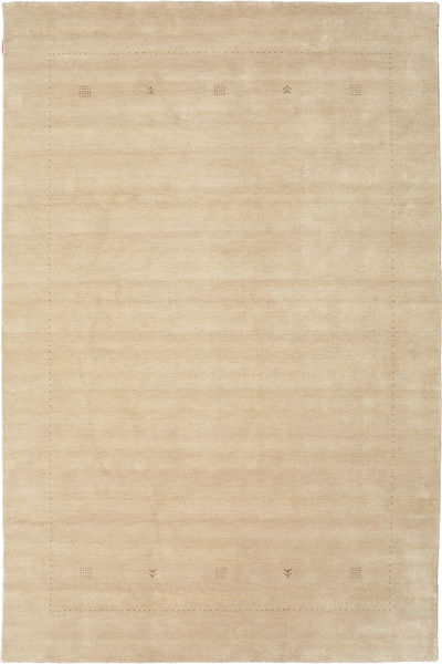 Loribaf Loom Giota - Beige Matto 190X290 Moderni Vaaleanruskea/Tummanbeige (Villa, Intia)