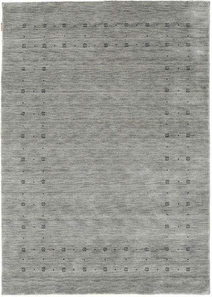Loribaf Loom Delta - Grå Teppe 160X230 Moderne Lys Grå/Mørk Grå (Ull, India)