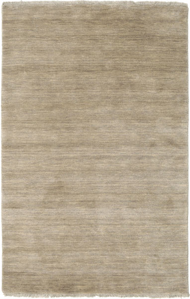 Handloom fringes - Light Grey / Beige rug CVD16601