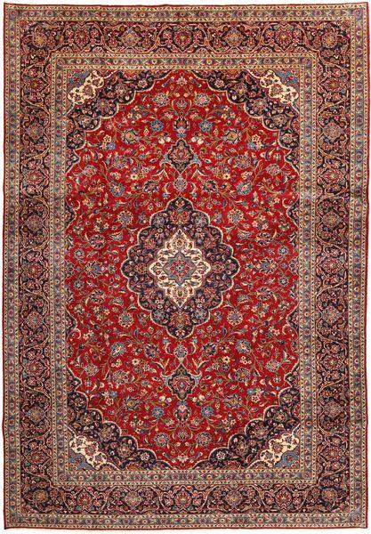 Keshan Matto 277X401 Itämainen Käsinsolmittu Tummanpunainen/Ruskea Isot (Villa, Persia/Iran)