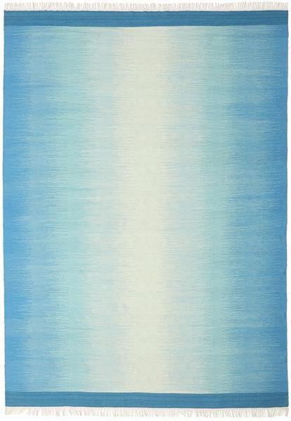 Ikat - Blå / Turquoise teppe CVD17503