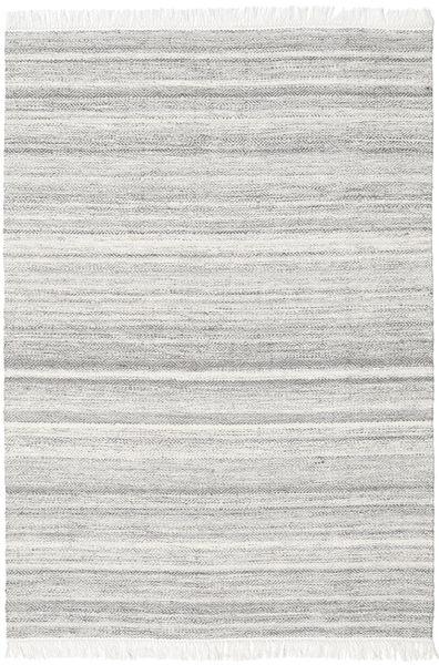 Diamond Ull - Grå Matta 160X230 Äkta Modern Handvävd Ljusgrå/Vit/Cremefärgad (Ull, Indien)