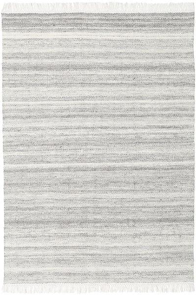 Diamond Wool - Grey Rug 140X200 Authentic  Modern Handwoven Light Grey/Beige (Wool, India)
