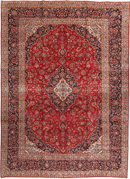 Keshan Matto 292X408 Itämainen Käsinsolmittu Ruskea/Tummansininen Isot (Villa, Persia/Iran)