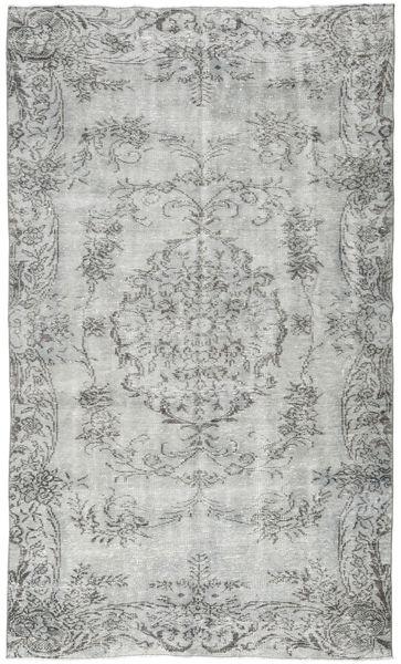 Colored Vintage Rug 149X261 Authentic  Modern Handknotted Light Grey/Dark Grey (Wool, Turkey)