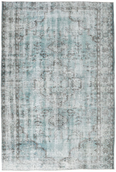 Colored Vintage Rug 182X273 Authentic  Modern Handknotted Light Grey/Light Blue (Wool, Turkey)