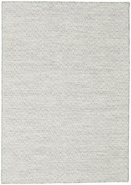 Kilim Goose Eye - Grey carpet CVD18869