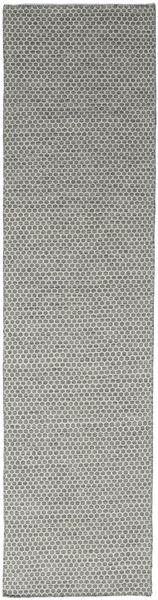 Kelim Honey Comb - Grå teppe CVD18718