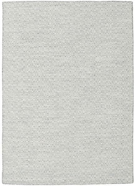 Kelim Goose Eye - Mid Grå matta CVD18845