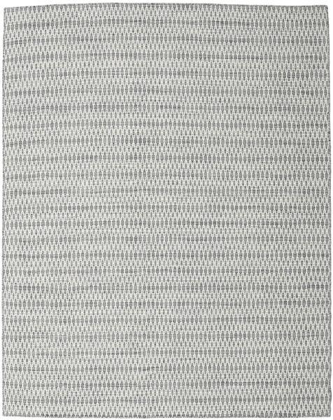Kilim Long Stitch - Dark Grey Rug 240X300 Authentic  Modern Handwoven Light Grey/Beige (Wool, India)