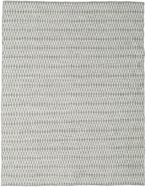 Kilim Long Stitch - Grey Rug 190X240 Authentic  Modern Handwoven Light Grey/Beige (Wool, India)