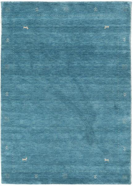 Loribaf Loom Zeta - Blauw Tapijt 140X200 Modern Blauw/Donker Turkoois (Wol, India)