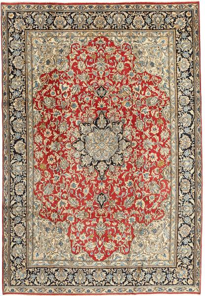 Kerman Rug 217X312 Authentic  Oriental Handknotted Brown/Light Brown (Wool, Persia/Iran)