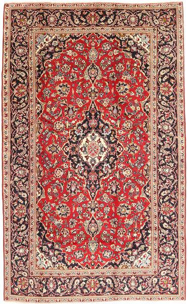 Keshan Rug 195X307 Authentic  Oriental Handknotted Brown/Light Brown (Wool, Persia/Iran)