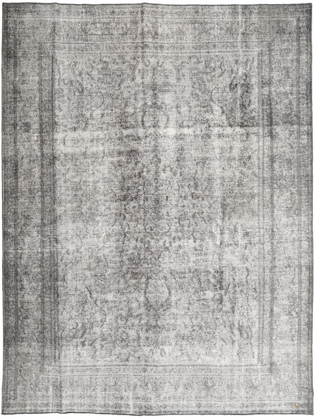 Colored Vintage Rug 285X378 Authentic  Modern Handknotted Light Grey/Dark Grey Large (Wool, Pakistan)