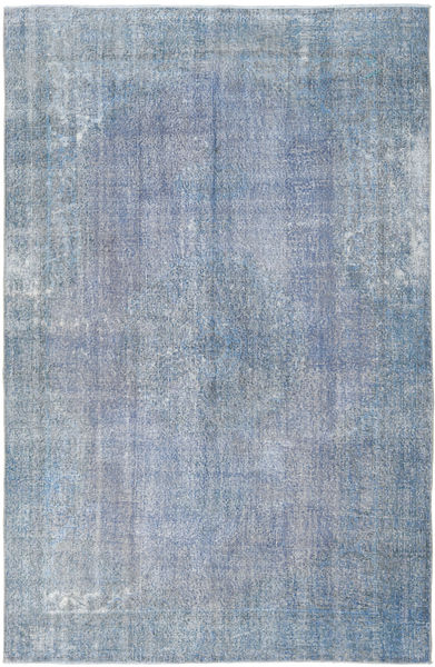 Colored Vintage Rug 204X312 Authentic  Modern Handknotted Light Blue/Light Purple (Wool, Turkey)