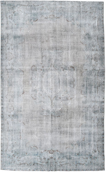 Colored Vintage Rug 185X303 Authentic  Modern Handknotted Light Grey (Wool, Turkey)