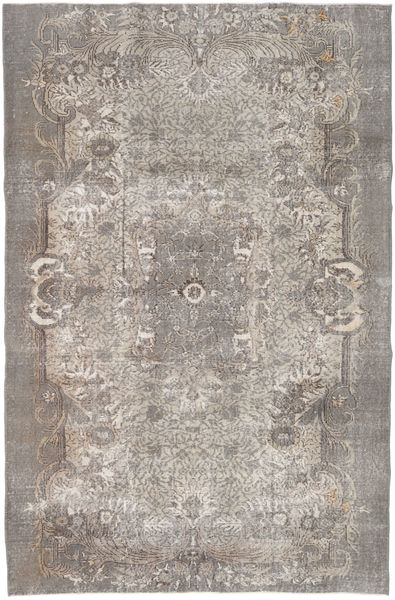 Colored Vintage Rug 177X270 Authentic  Modern Handknotted Light Grey/Light Brown (Wool, Turkey)