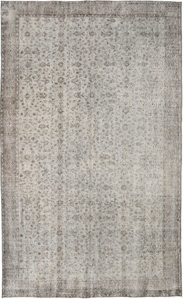 Colored Vintage Rug 172X280 Authentic  Modern Handknotted Light Grey (Wool, Turkey)