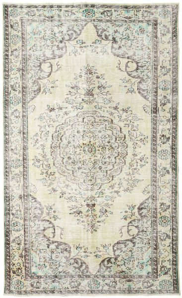 Colored Vintage Rug 172X295 Authentic  Modern Handknotted Beige/Light Grey (Wool, Turkey)