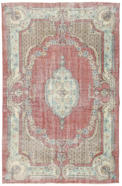 Colored Vintage Tapis 172X266 Moderne Fait Main Gris Clair/Beige (Laine, Turquie)
