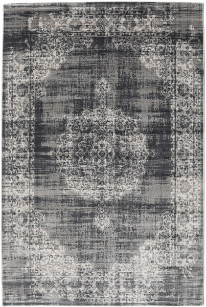 Jinder - Anthracite / Lichtgrijs tapijt RVD19073