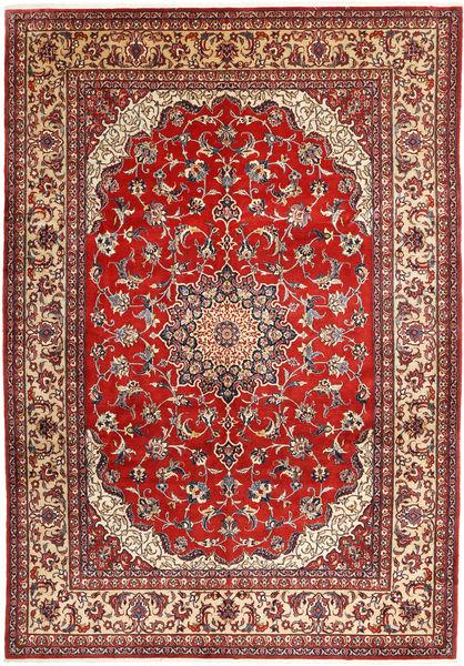 Najafabad Matto 266X390 Itämainen Käsinsolmittu Tummanpunainen/Ruskea Isot (Villa, Persia/Iran)