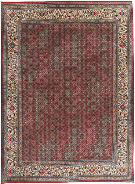 Moud Rug 295X395 Authentic  Oriental Handknotted Dark Red/Light Brown Large (Wool, Persia/Iran)