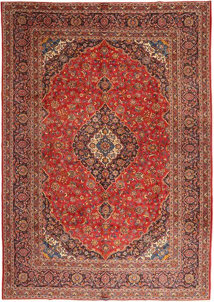 Keshan Matto 303X425 Itämainen Käsinsolmittu Ruskea/Ruoste Isot (Villa, Persia/Iran)
