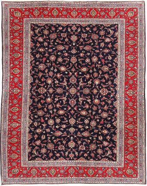 Keshan Matto 215X278 Itämainen Käsinsolmittu Tummanvioletti/Vaaleanharmaa (Villa, Persia/Iran)