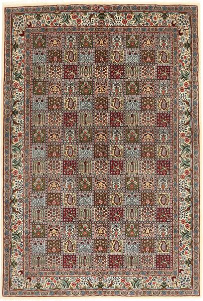 Moud Alfombra 170X243 Oriental Hecha A Mano Marrón Claro/Marrón Oscuro (Lana/Seda, Persia/Irán)