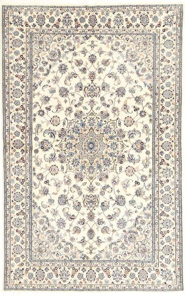 Nain 6La Matto 135X218 Itämainen Käsinsolmittu Beige/Vaaleanharmaa (Villa/Silkki, Persia/Iran)